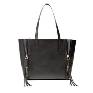 Chloé Milo Leather & Suede Tote
